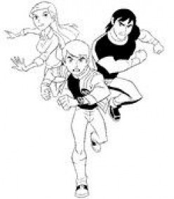 Ben 10: Colouring Pages
