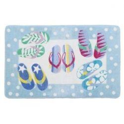 Flip Flops Bath Mat --