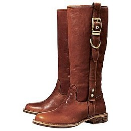These Equestrian-inspired Coach Weslyn boots are comfy and stylish