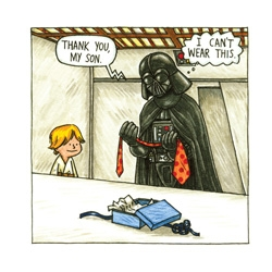 Luke, I am your father...