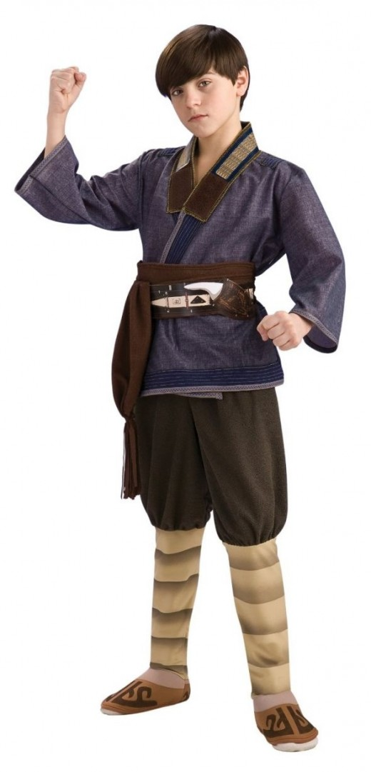 Deluxe Sokka costume. Featuring a more muted tunic and higher quality stitching.