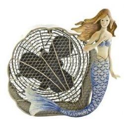 Mermaid Decorative Figurine Fan