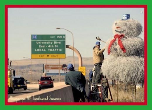 Albuquerque Snowman