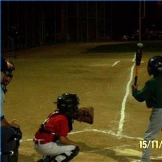 Pony baseball catcher