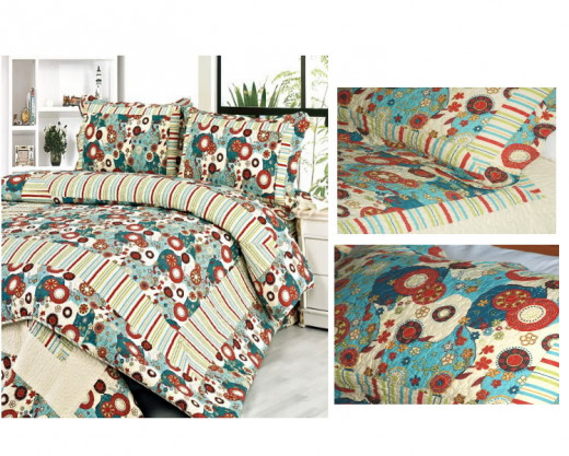 Dianthe 3 Piece Quilt Set