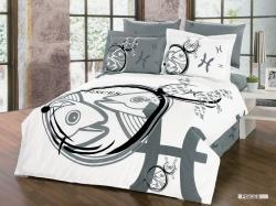 Pisces Zodiac Duvet Bedding Set