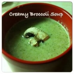 Creamy Broccoli Homemade Soup Recipe