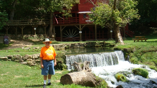 Bill by the pond and Mill