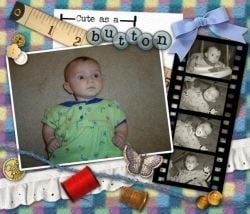 Digital Scrapbook Page