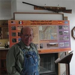 Local historian, Steve Taylor, Fremont, Utah