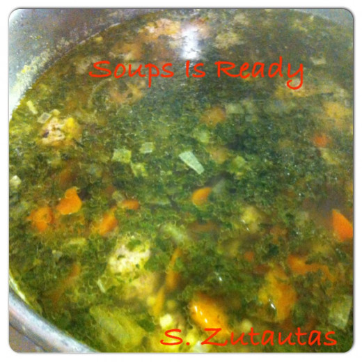 Soup is now ready to serve and ENJOY!