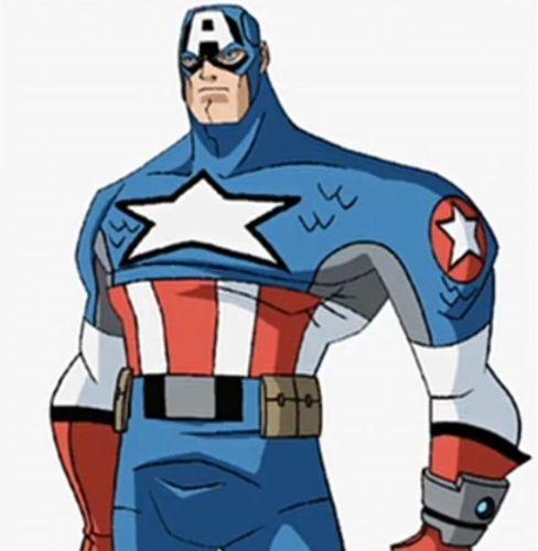 Captain America's new costume.  Not loving it.