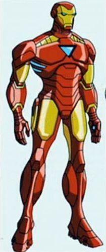 Iron Man's new armor.  Kinda like it.