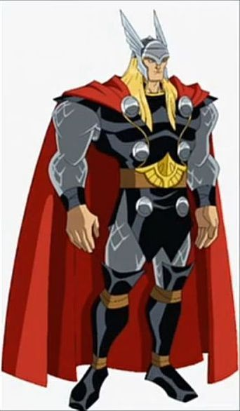 Thor's new outfit.  More of a movie tie-in?