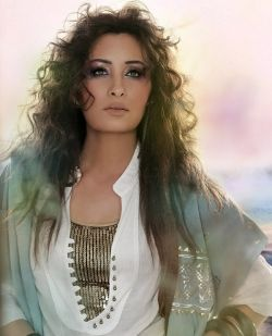 Latifa-most beautiful arab women