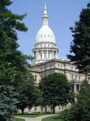 Michigan State Capital in Lansing