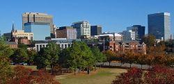 Skyline of downtown Columbia, South Carolina