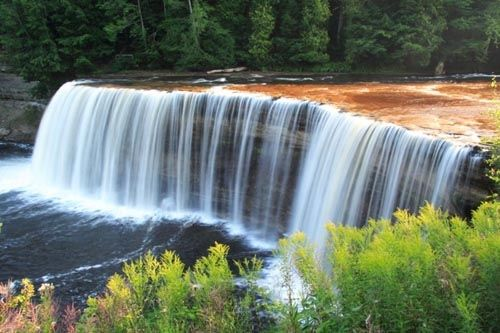 Taquamenon Falls in Upper Peninsula