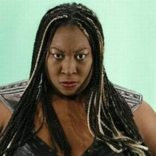 Awesome Kong (Kia Stevens)-female wrestling