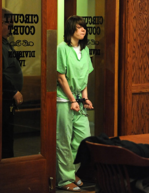 Alyssa in court (Public Domain Image)