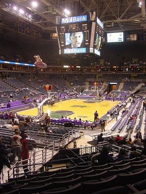 Bradley Center, home of the Milwaukee Bucks of the National Basketball Association.