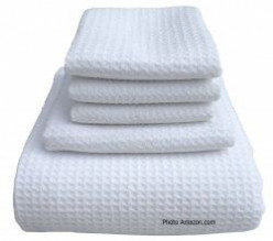 Beautiful Waffle Weave Towels For Bathroom Accessories For Luxury and Comfort
