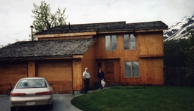The house of my brother-in-law in Valdez that we visited in our May 1998 trip.