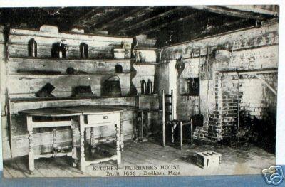 Kitchen of the Fairbanks House