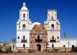 Mission San Xavier del Bac - Exterior