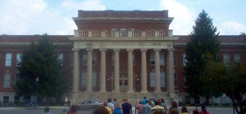 Kirksey Old Main building at Middle Tennessee State University