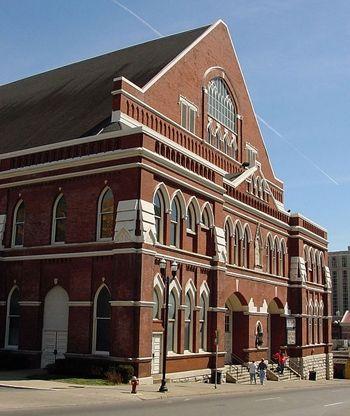 Ryman Auditorium in Nashville