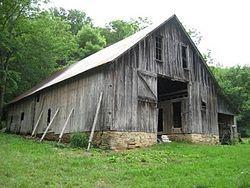 Orphea Duty barn, in Arkansas