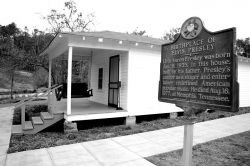 Elvis' birthplace in Tupelo, Mississiippi