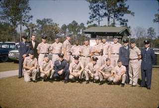 My Ground Electronics Officers School class at Keesler AFB, Biloxi, MS, in 1961
