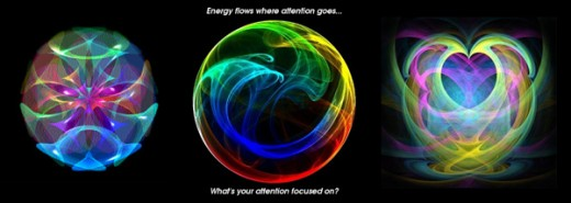 """Energy flows where attention goes... What's your attention focused on?"""
