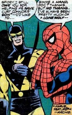 Yellowjacket-Spiderman