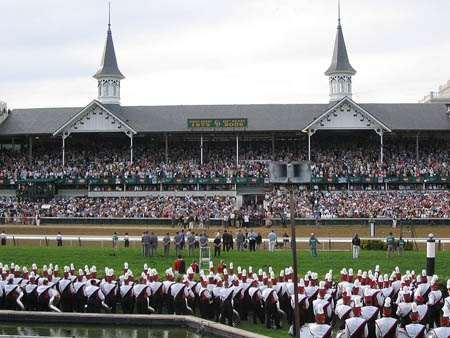 Churchill Downs, home of the Kentucky Derby, in Louisville