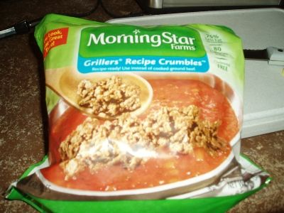 My favorite crumble meat substitute