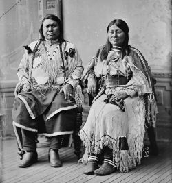 Chief Ouray and his wife, Chipeta