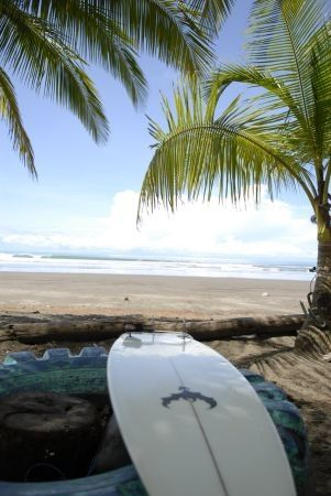 A relaxing view of the beach on la Isla de Tortuga, Puntarenas