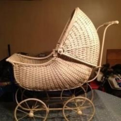 Antique and Vintage Baby Gear-A Ride for Baby