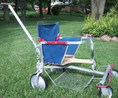 A popular stroller during the 40-60's