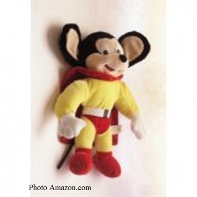 Mighty Mouse Stuffed Toy