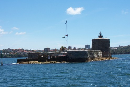 Fort Denison was constructed to defend Sydney against possible Russian invasion during the Crimean War. The historic buildings can be visited on a guided tour.