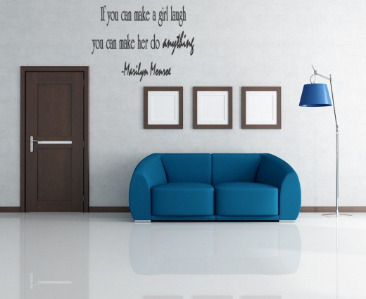If You Can Make A Girl Laugh, Marilyn Monroe Wall Quote