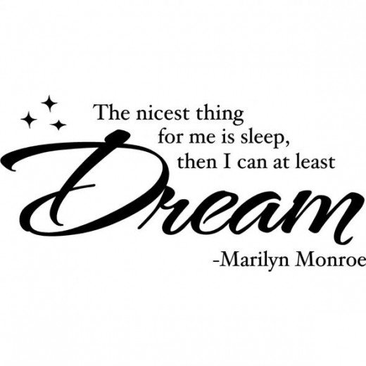 The Nicest Thng for Me is Sleep....