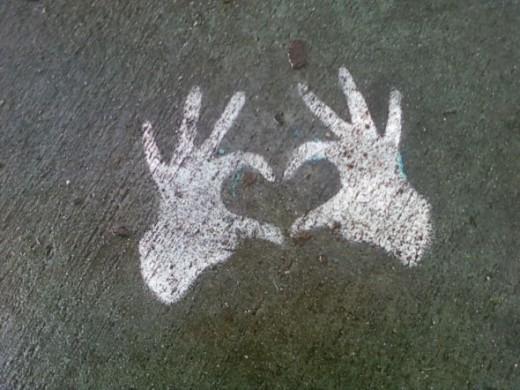 Valentine Hands Heart