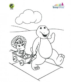 Thanksgiving recipes for kids for Baby bop coloring pages