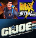 Action Figures: G.I. Joe, Max Steel, and Action Man