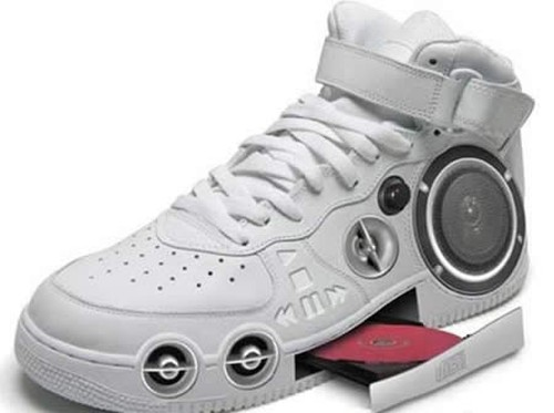 cd player weird shoes